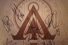 Signed Amaranthe Vinyl