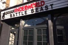 Battle Beast at The Underworld, London 24/03/17