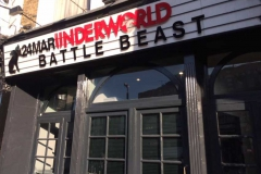 Battle Beast at The Underworld, London 24/03/17