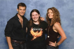 Casper Van Dien & Dina Meyer (Johnny Rico & Dizzy in Starship Troopers)