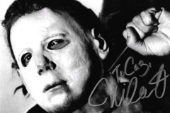 Nick Castle (Michael Myers in Halloween) autograph