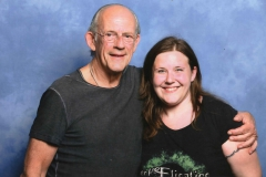 Christopher Lloyd (Doc Brown in Back to the Future)