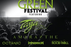 Rock on Green Festival at The Forum, London 05/06/16