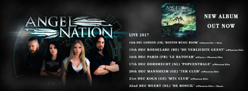 Angel Nation Tour/Album Facebook Cover Photo