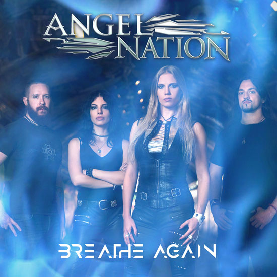 "Angel Nation ""Breathe Again"" Single Cover"