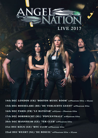 Angel Nation Tour Poster