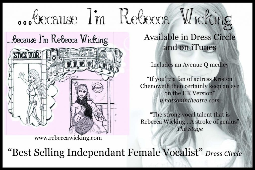 Rebecca Wicking Album Advert